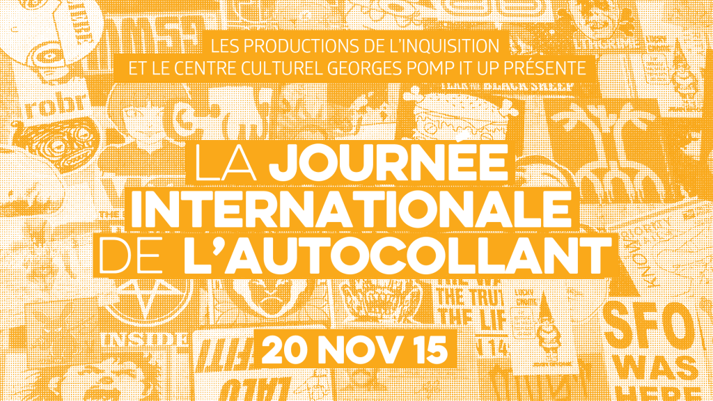 La Journée Internationnale de l'Autocollant