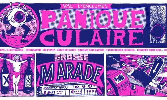 Val L'Enclume · Panique Oculaire · Concert