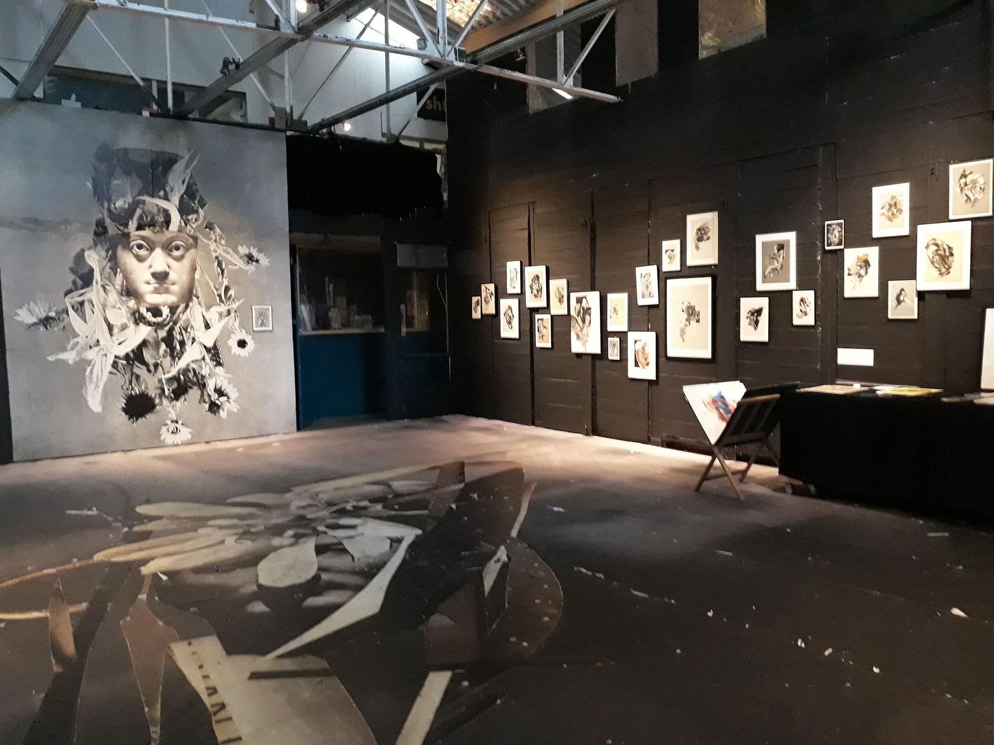 Exposition BILL NOIR - CHUTES LIBRES
