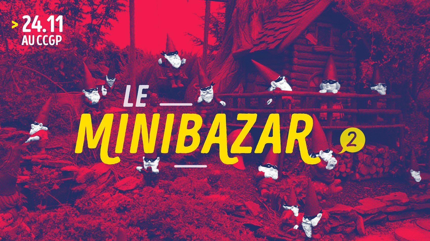 Affiche de l'événement MINIBAZAR#