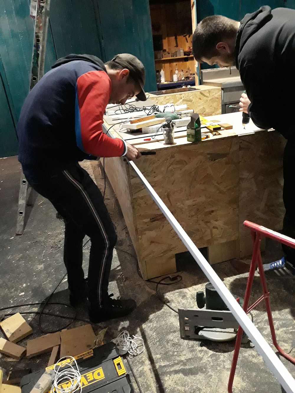 Préparation VICTOR REMÈRE