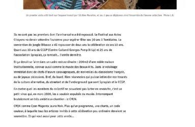 Article CMJN-2021 - L'Est Républicain - 2 mai 2021